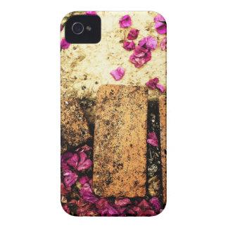 rostiger brauner Kunstbrand-Rauch abstrakter iPhone 4 Hülle