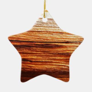 rostiger brauner Kunstbrand-Rauch abstrakter Keramik Ornament