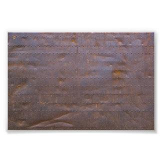 Rostiger Eisen-Beschaffenheits-Hintergrund Fotodruck