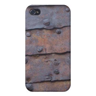 Rostiger Speck-Kasten iPhone 4 Cover