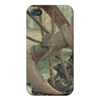 Rostiges altes Rad Etui Fürs iPhone 4