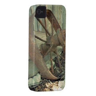 Rostiges altes Rad iPhone 4 Hülle