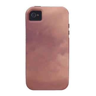 Rot bewölkt TPD Vibe iPhone 4 Hülle