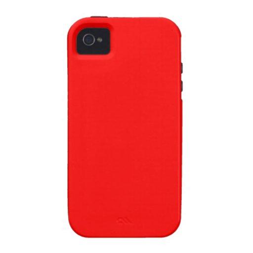 Rot Case-Mate iPhone 4 Hüllen