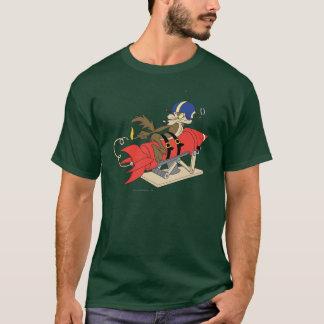 Rot Rocket Wile E. Coyote Launching T-Shirt