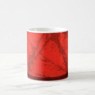 Rot-und Schwarz-Entwurfs-Tasse Tasse