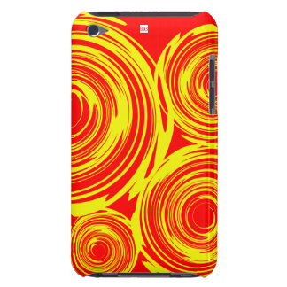 Rotations-roter gelber IPod-Touch-Case-Mate-Kasten iPod Touch Case
