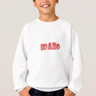 Rote amerikanische Flagge Idaho Sweatshirt