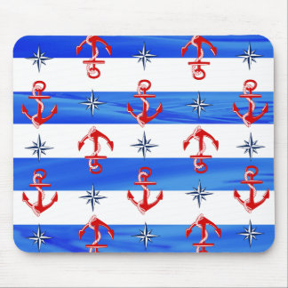 Rote Anker Mousepad
