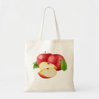Rote Äpfel Tragetasche