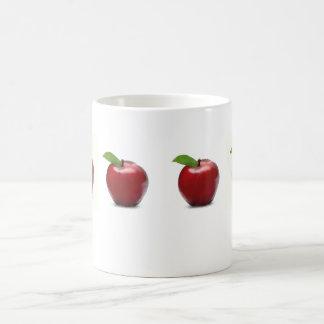 Rote Apple-Tasse Tasse
