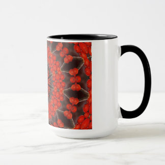 Rote Beeren Tasse