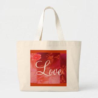 Rote Blumentasche der Liebe-II - kundengerecht