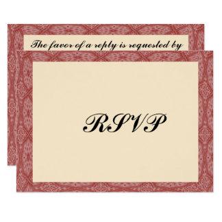 Rote Diamanten gestalten Bar Mitzvah/Geburtstag Karte