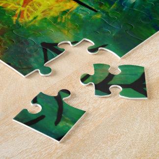 Rote Drachen von Wales-Puzzlespiel Puzzle