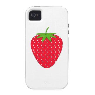 Rote Erdbeere iPhone 4/4S Cover