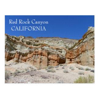 Rote Felsen-Schlucht-Postkarte! Postkarten