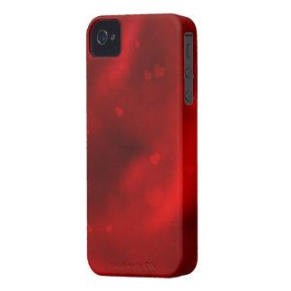 Rote Herzen iPhone 4 Etuis