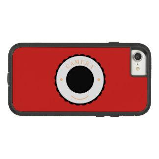 Rote Individualitätskamera u. -lächeln Case-Mate Tough Extreme iPhone 8/7 Hülle