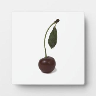 Rote Kirschbeere Fotoplatte