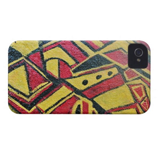 ROTE KLIPPEN iPhone 4 COVER