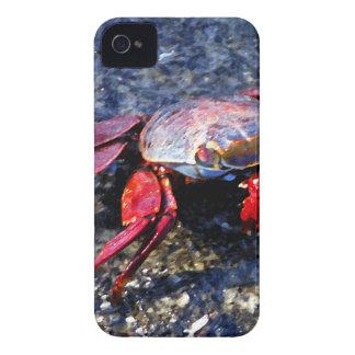 Rote Krabbe Case-Mate iPhone 4 Hüllen