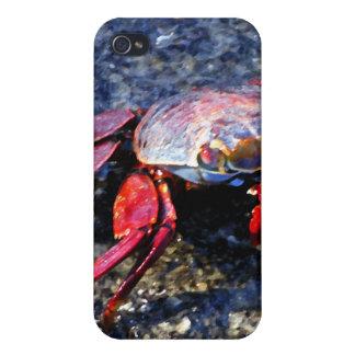 Rote Krabbe Schutzhülle Fürs iPhone 4