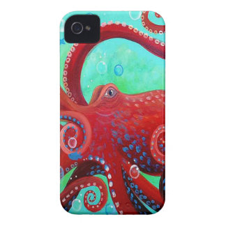 Rote Krake iPhone 4 Case-Mate Hüllen