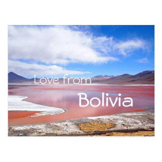 Rote Lagune, Laguna Colorada, Postkarte