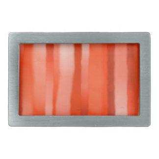 Rote orange Streifen-Rechteck-Schnalle Rechteckige Gürtelschnalle