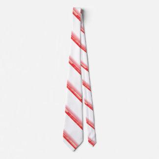 Rote Pfefferminz-Zuckerstange-Krawatte Bedruckte Krawatten