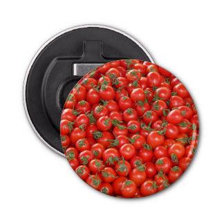 Rote Rebe-Tomaten Runder Flaschenöffner