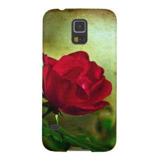 Rote Rose der Tag mystischer Gartengotische Galaxy S5 Cover