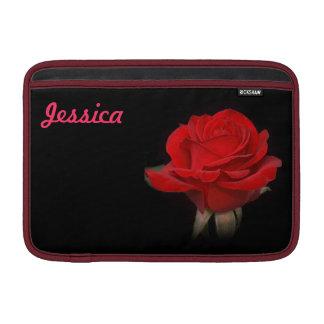 """Rote Rose für meine Liebe 11"""" Sleeve Fürs MacBook Air"""
