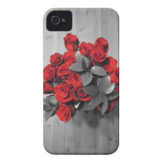 Rote Rosen iPhone 4 Case-Mate Hüllen