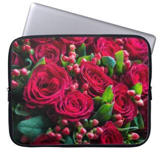 Rote Rosen Laptopschutzhülle