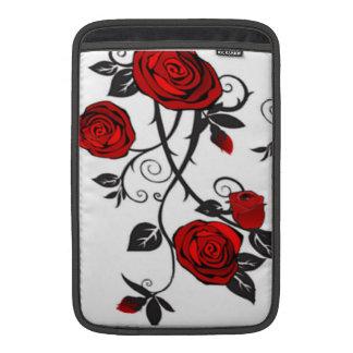 Rote Rosen MacBook Sleeve