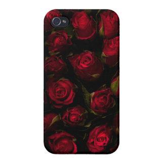 Rote Rosen Schutzhülle Fürs iPhone 4