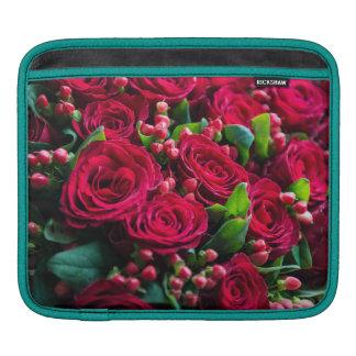 Rote Rosen Sleeve Für iPads