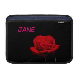 """Rote Rote Rosen sind für Liebe 11"""" MacBook Air Sleeve"""