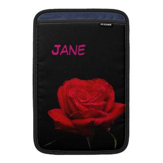 """Rote Rote Rosen sind für Liebe 11"""" Sleeve Fürs MacBook Air"""