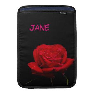 Rote Rote Rosen sind für Liebe MacBook Air Sleeve
