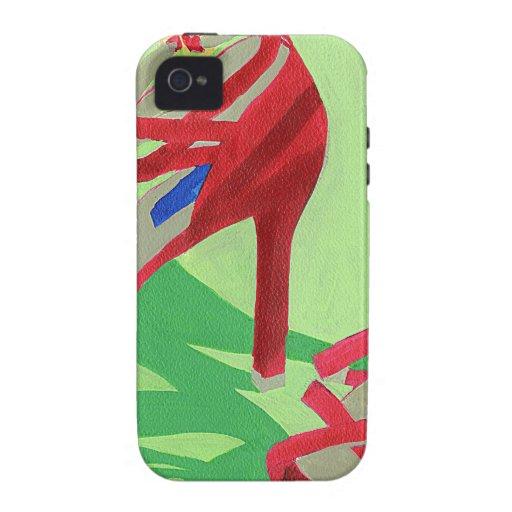 Rote Schuhe iPhone 4/4S Hüllen