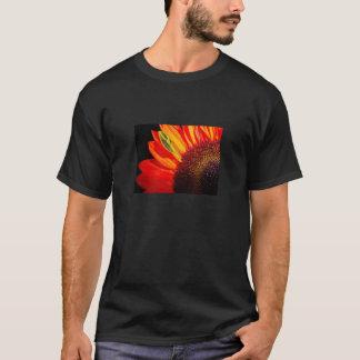 Rote Sonnenblume T-Shirt