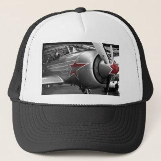 Rote Stern-Yak 52 Truckerkappe