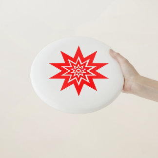 Rote Sternexplosion Wham-O Frisbee