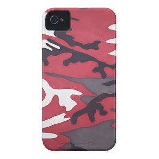 Rote Tarnung Case-Mate iPhone 4 Hüllen
