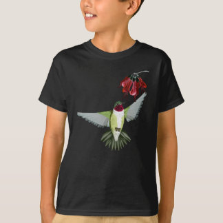 Rote Throated Kolibri-Shirts T-Shirt