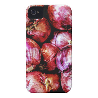 Rote Zwiebel iPhone 4 Cover