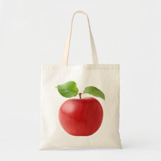 Roter Apfel Tragetasche